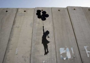 banksy, -girl with balloons-